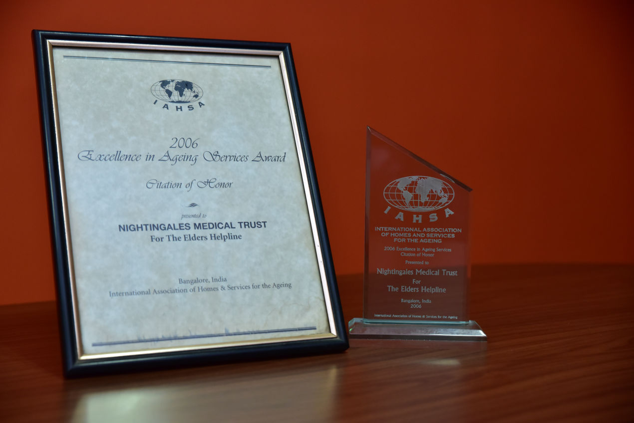 Excellence in Ageing Services Award by International Association of Homes & Services for the Ageing