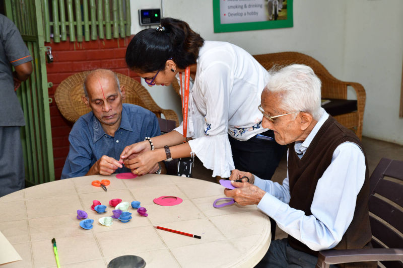 Trained Caregivers at Nightingales CEntre for Ageing and Alzheimer's