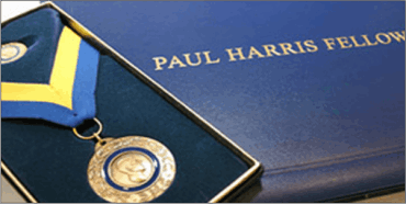 Paul Harris Fellowship by Rotary Foundation