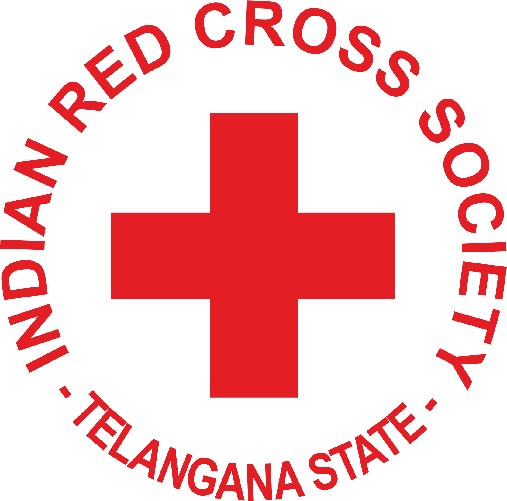 Logo of Indian Red Cross, Telangana - A partner of NMT